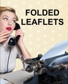 Folded Leaflets - Bring your message to life