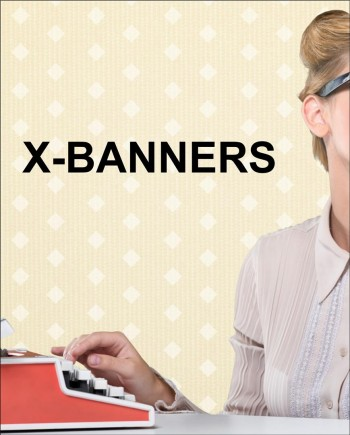 X-Banners | Economical and interchangeable